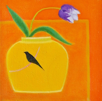 2_13_Tulip in Bird Jar 12x12